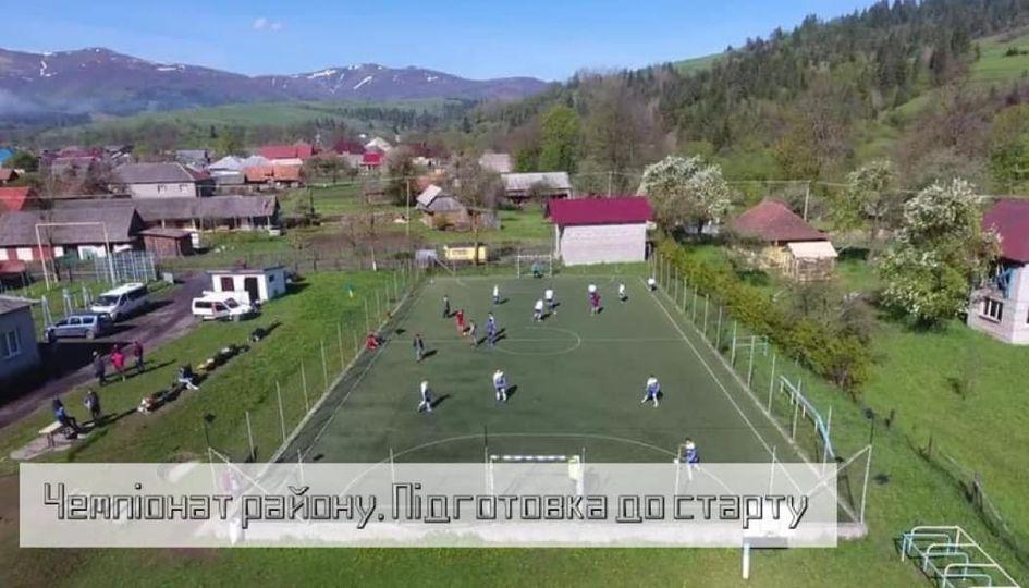 Футбол Міжгірщини