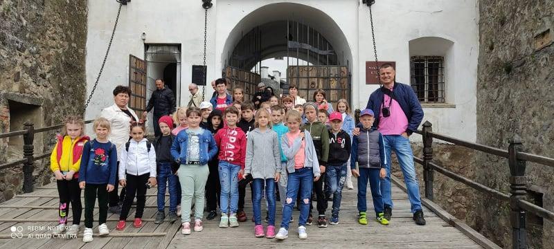 Учні Вучкового відвідали Мукачево.