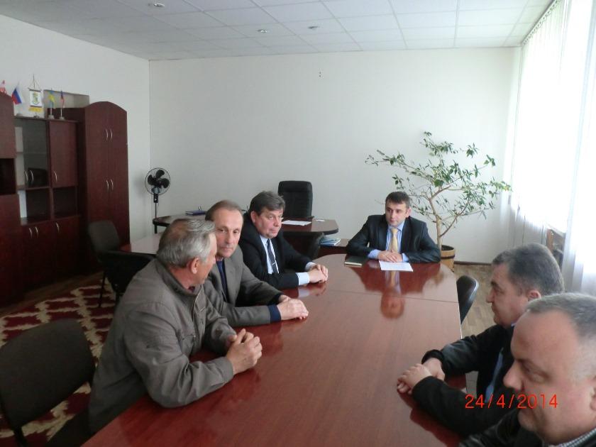 Андрій Шекета зустрівся з «афганцями».
