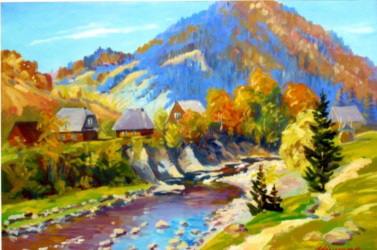 ДУХ ТВОРЧОСТІ Й СТАРОВИНИ витає у майстерні художника Василя Шиндри