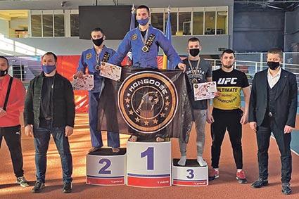 «Бронзу» на чемпіонаті України здобув міжгірський борець